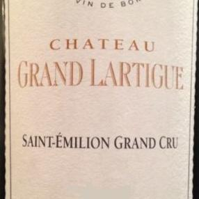 Château Grand Lartigue, Saint-Émilion Grand Cru
